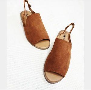 Shoes - //The Erin// chestnut slingback sandal